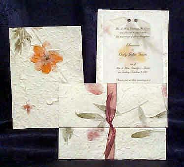1001invdaisvic unique handmade invitations and handmade paper invitations,Handmade Paper Wedding Invitations