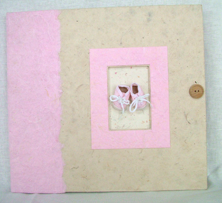pink tennies scrapbook