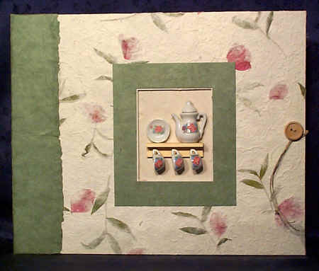 tea party scrapbook