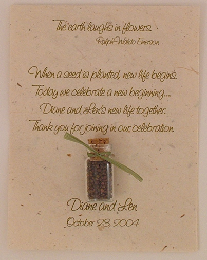 paper seeds wedding favors image collections wedding decoration ideas