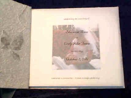 customized scrapbooks handmade wedding invitations memory books